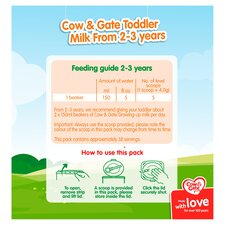 image 4 of Cow & Gate 4 Growing Up Milk Powder 2+ Years 800G