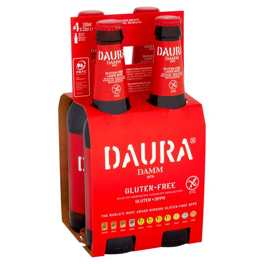 Daura Damm Gluten Free 4 Pack X 330Ml