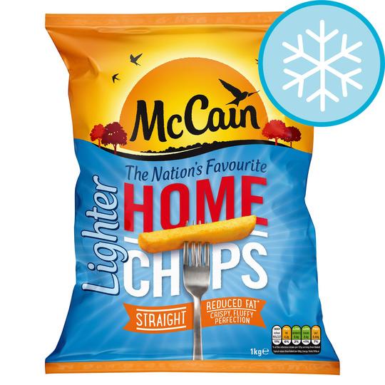 Mccain Home Chips Lighter Straight 1Kg