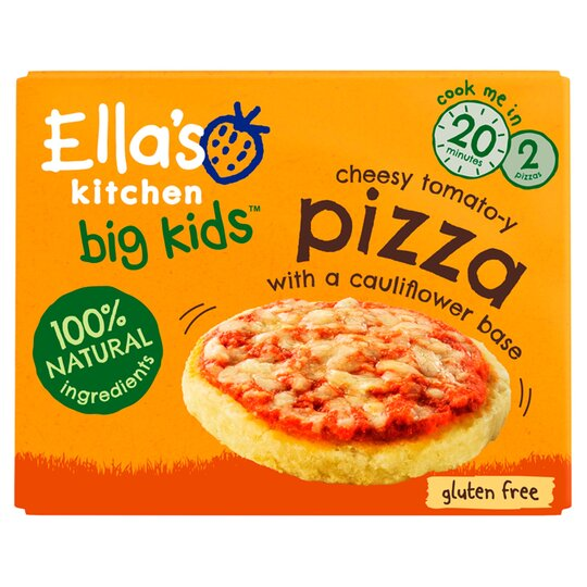 Ella's Kitchen Cheesy Tomatoey Pizza 2X90g
