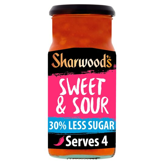 Sharwoods Sweet Sour 30%R/S Cooking Sauce 425G