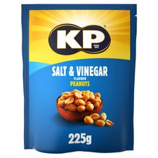 image 1 of Kp Salt & Vinegar Peanuts 225G