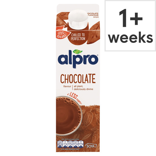 Alpro Chocolate Soya Fresh Drink Alternative 1l