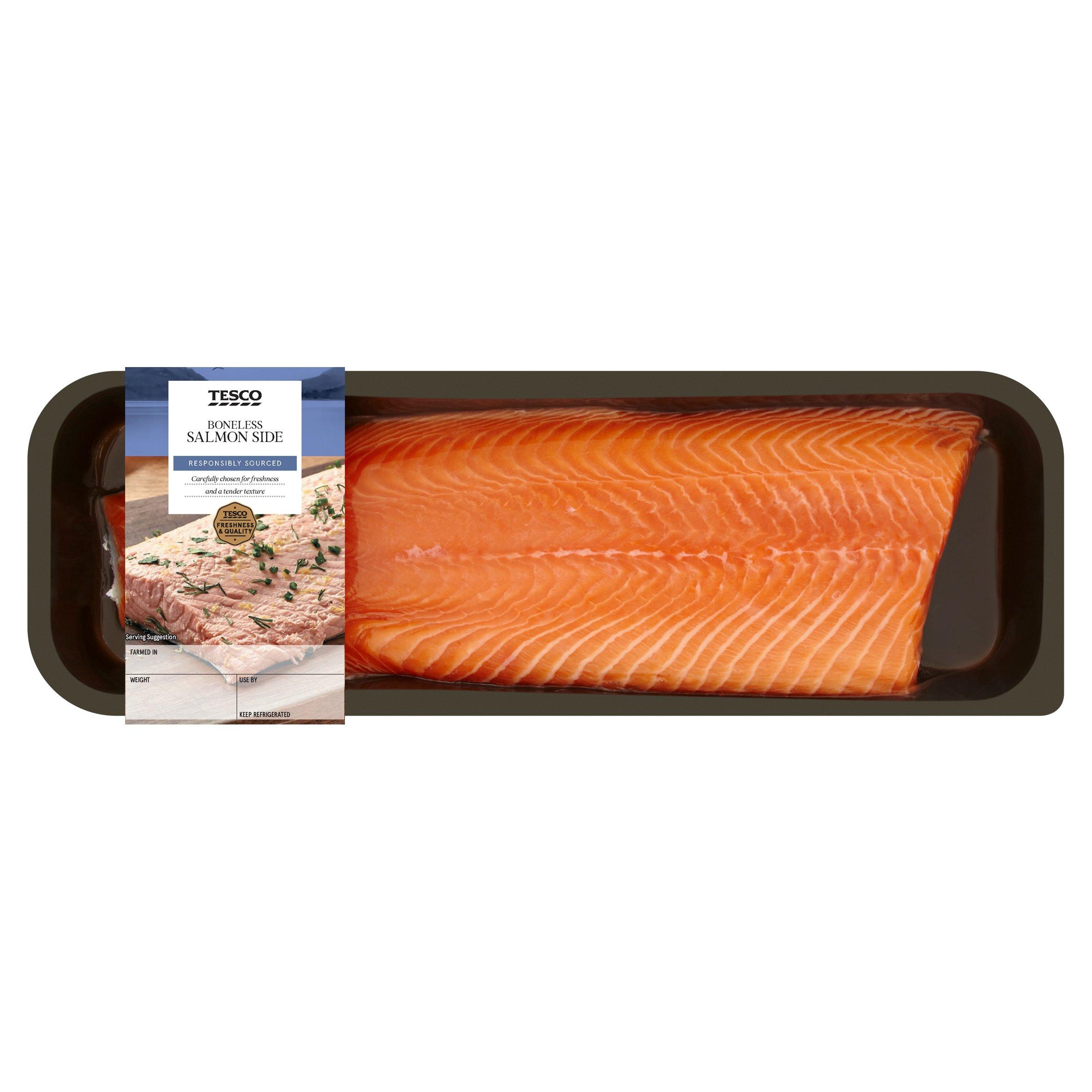 Tesco Salmon Side 1Kg