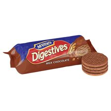 image 2 of Mcvities Milk Chocolate Digestive 300G (C)
