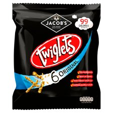 image 1 of Jacobs Twiglets Snacks 6X24g