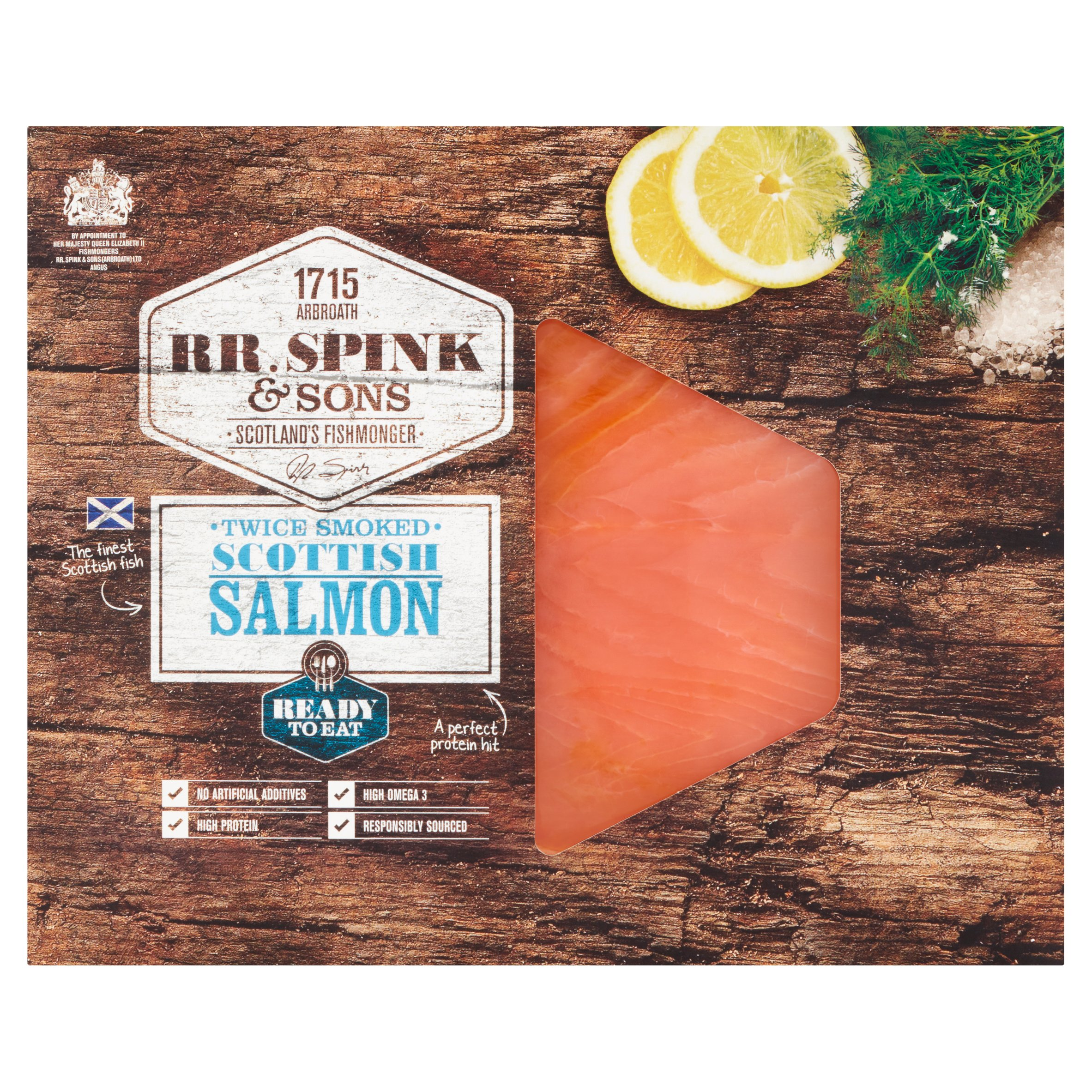 Rr. Spink & Sons Smoked Scottish Salmon 100G