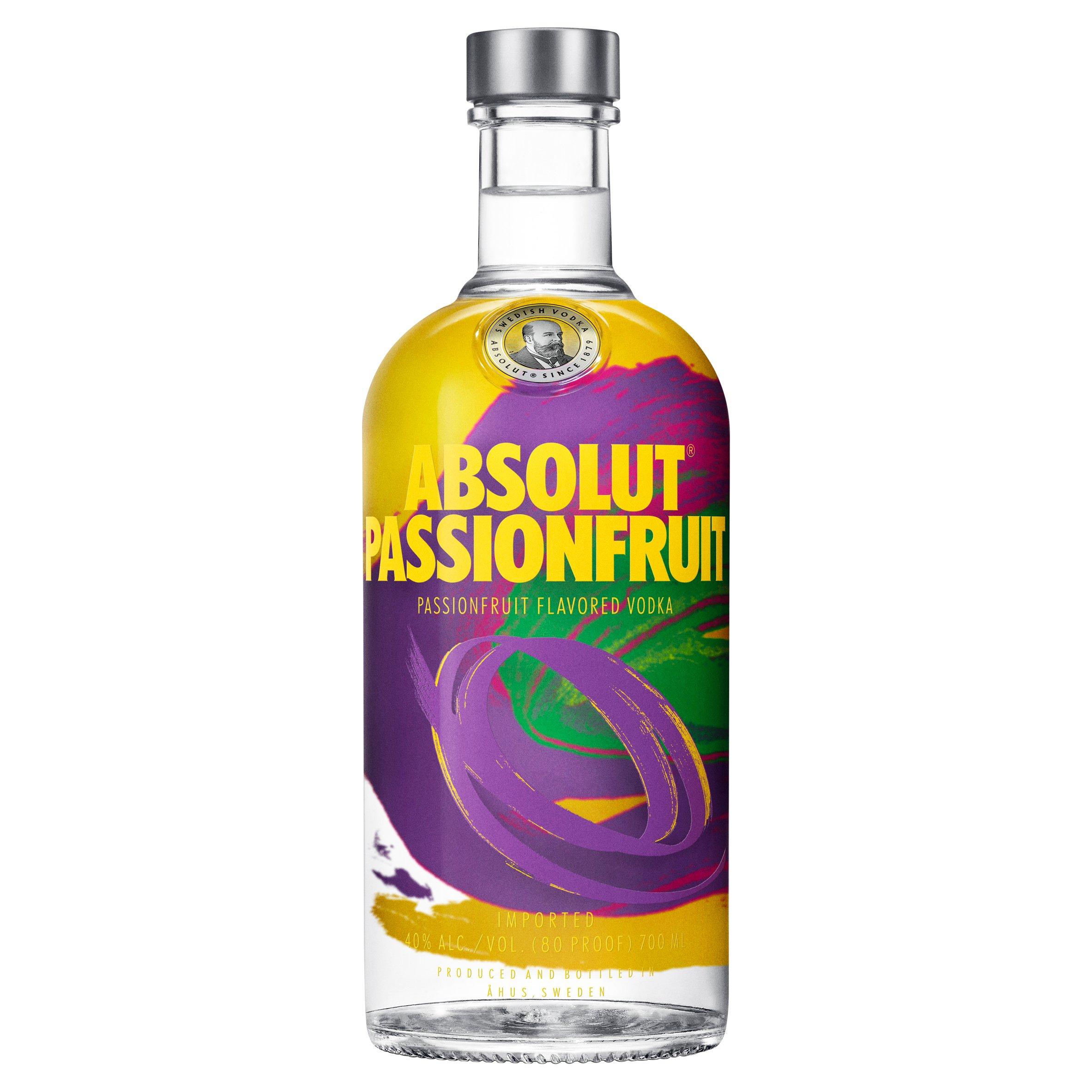 Absolut Passion Fruit Vodka 70Cl