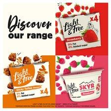 image 3 of Light & Free Greek Style Raspberry Yogurt 4X115g