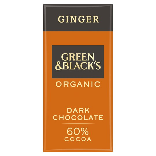 Green & Blacks Organic Ginger Chocolate 90G