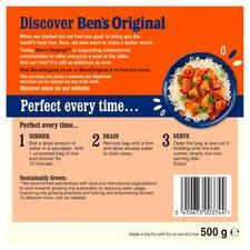 image 2 of Ben's Original Boil In Bag Long Grain Rice 500G