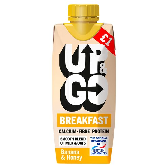 Up&Go Breakfast Drink Banana & Honey 330Ml