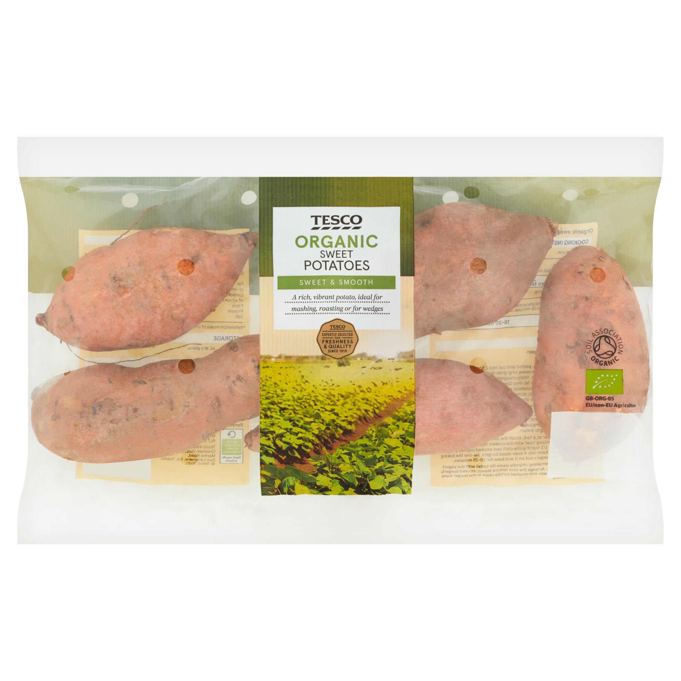 Organic Sweet Potatoes 750G