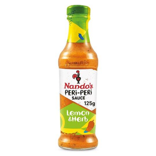 Nandos Peri Peri Sauce Lemon & Herb 125G