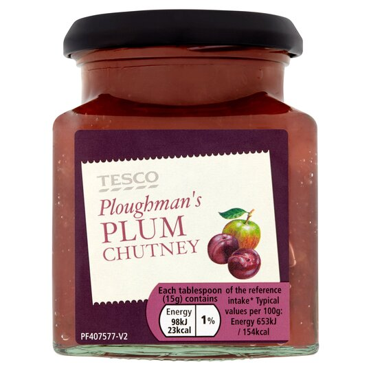 Tesco Ploughman's Plum Chutney