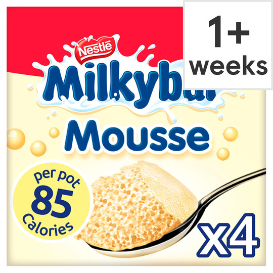 Milkybar Mousse 4 X 55G