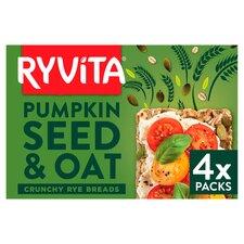 image 1 of Ryvita Pumpkin & Oats Crisp Bread 4X50g