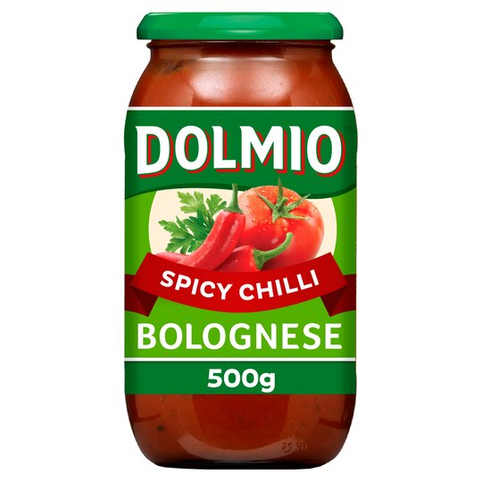 Dolmio Bolognese Intense Chilli Pasta Sauce 500G