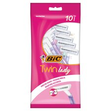 image 1 of Bic Twin Lady Disposable Razors 10S