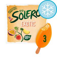 image 1 of Solero Exotic Ice Cream 3 X 90Ml