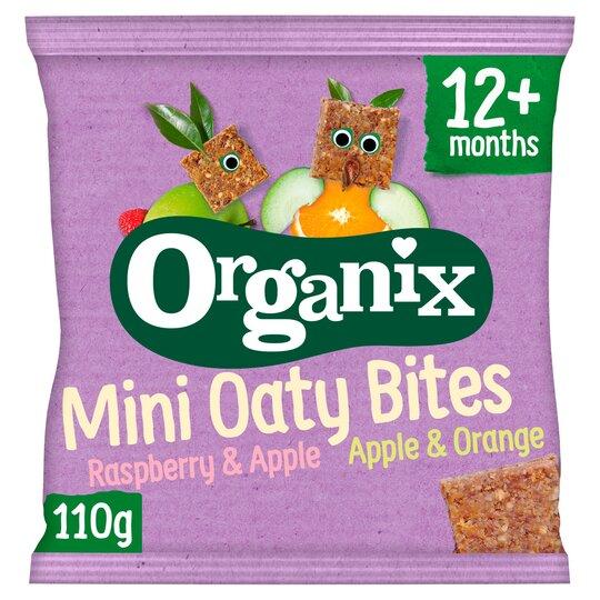 Organix Mini Oaty Bites 11X10g
