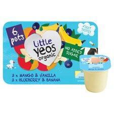 image 2 of Yeo Valley No Added Sugar Kids Yogurts Selection 6X42g