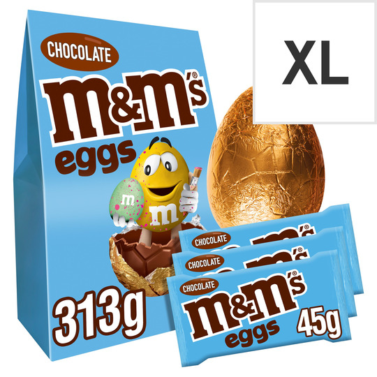 image 1 of M&M's Chocolate Eggs Easter Egg