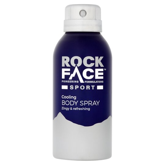 Rockface Sport Cooling & Zingy Body Spray 150Ml