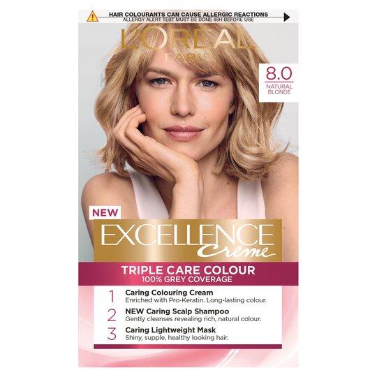 image 1 of L'oreal Paris Excellence Color 8 Natural Blonde