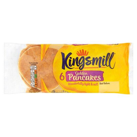 Kingsmill Pancakes 6 Pack
