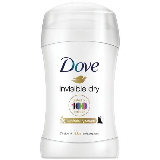 Dove Invisible Dry Stick Antiperspirant Deodorant 40Ml