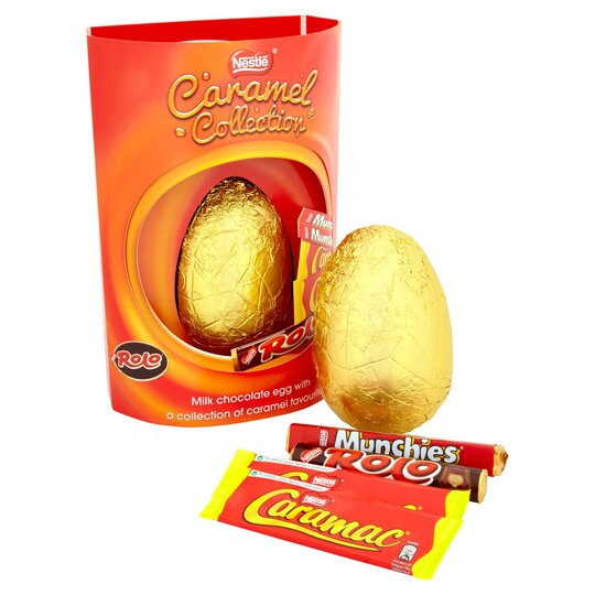 image 1 of Nestle Caramel Collection Giant Easter Egg 364G