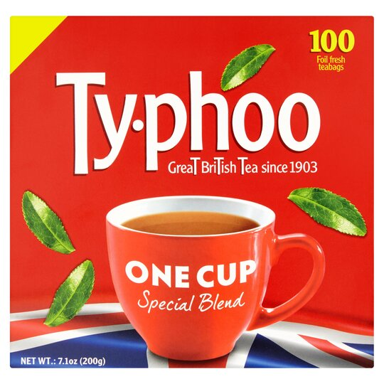 Typhoo 100 One Cup Teabags 200G