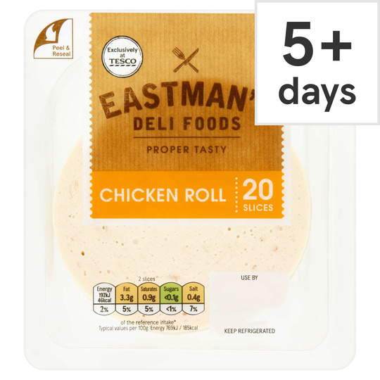 Eastman's Chicken Roll Slices 250G