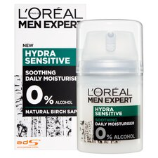 image 2 of Loreal Men 50Ml Hydrating Sensitive Hydrating Cream