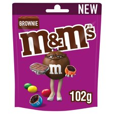 image 1 of M&M's Brownie Chocolate Bag 102G