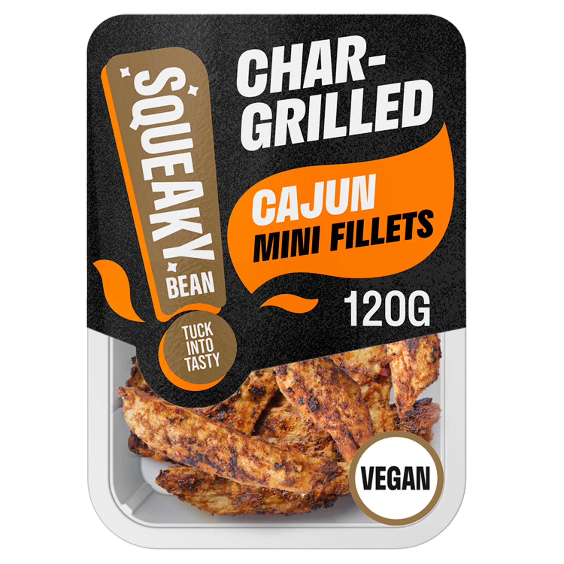 Squeaky Bean Chargrilled Mini Fillets Cajun 120G