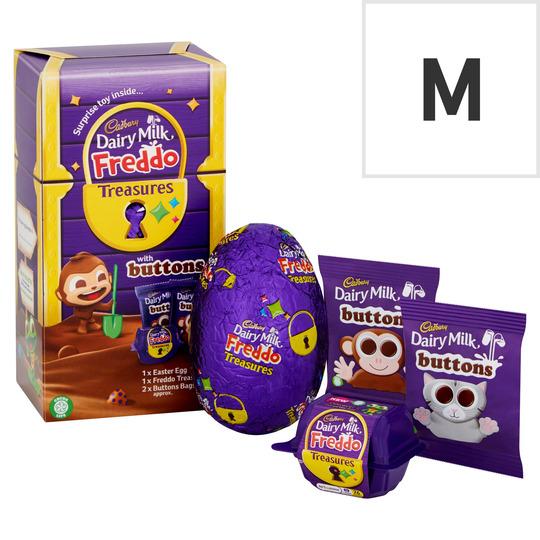 Cadbury Dairy Milk Chocolate Button & Toy 143G