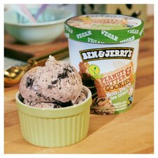 image 3 of Ben & Jerry's Non Dairy Peanut Butter & Cookies Ice Cream 465Ml