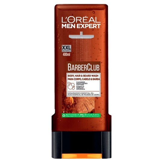 L'oreal Men Expert Body Hair & Beard Wash 400Ml