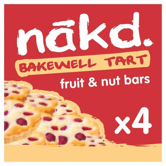 Nakd Bakwell Tart Bars 4 Pack 140G