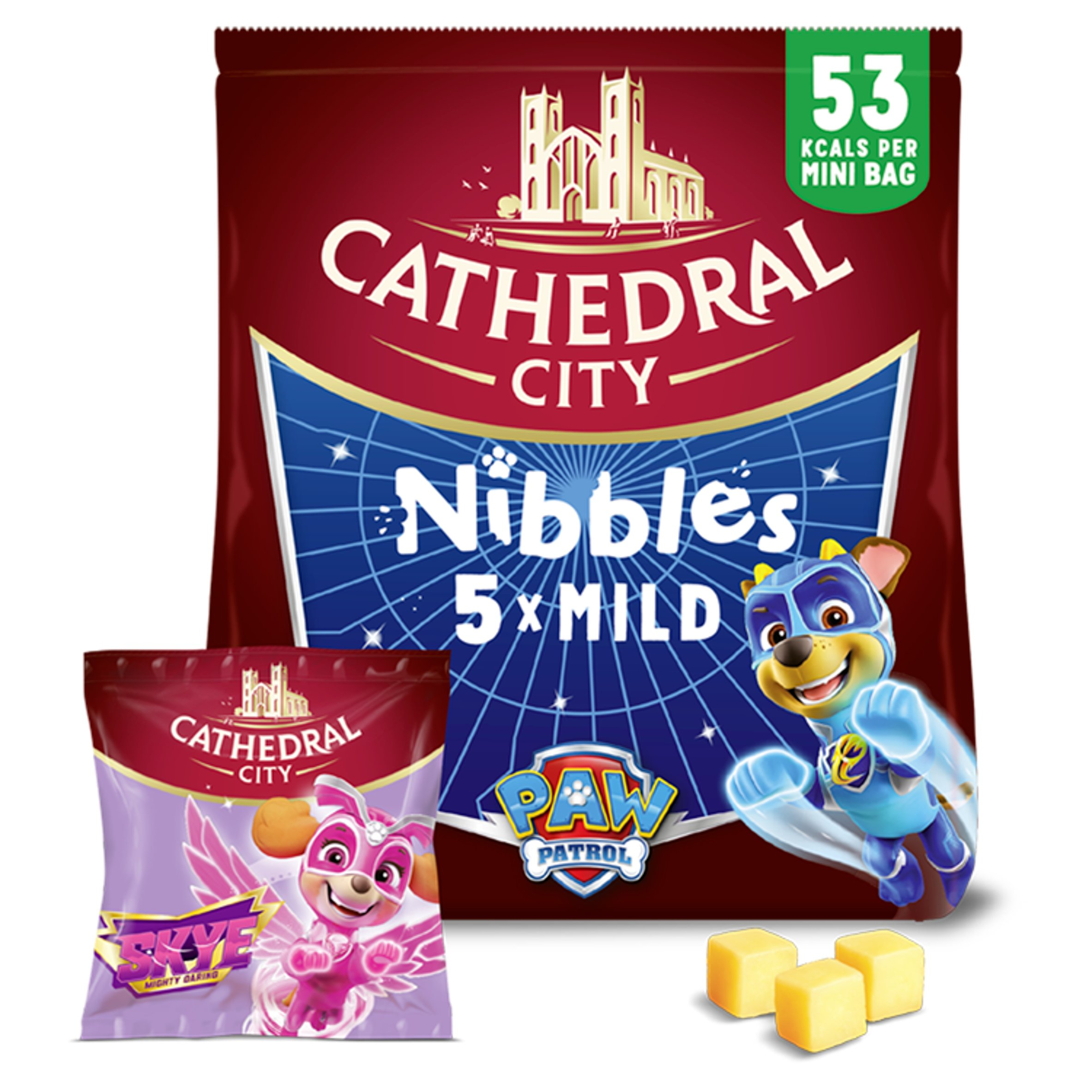 Cathedral City Nibbles Cheese 5X16g