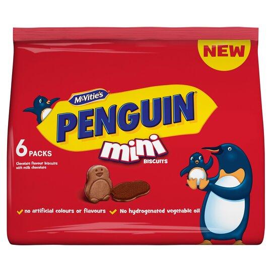 Mcvities Penguin Mini Biscuits 150G