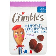 image 1 of Mrs Crimble's Chocolate Madeleine 170G