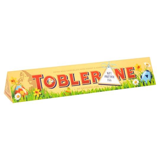 Toblerone Milk Slv Easter 360g Tesco Groceries