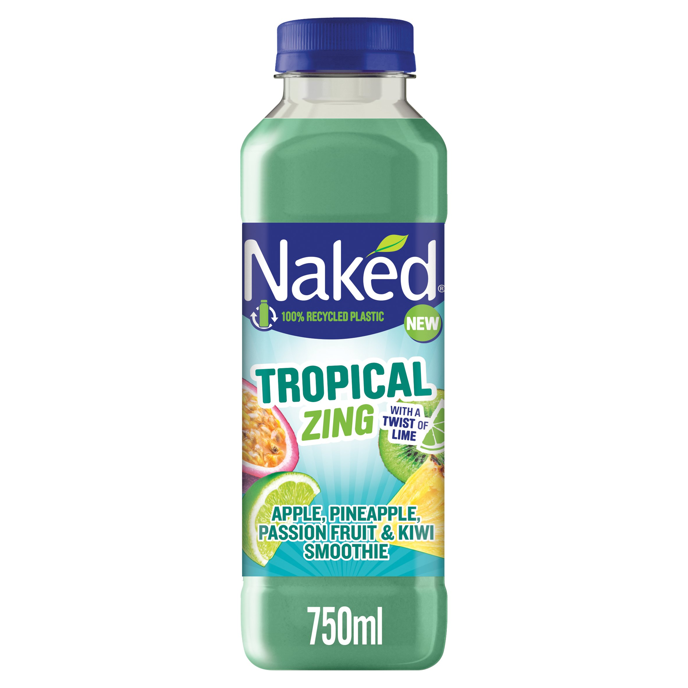 Naked Tropical Zing Smoothie 750Ml