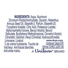 image 2 of Dove Invisible Dry Roll-On Antiperspirant Deodorant 50Ml