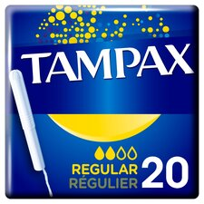 image 1 of Tampax Blue Box Regular 20 Pack