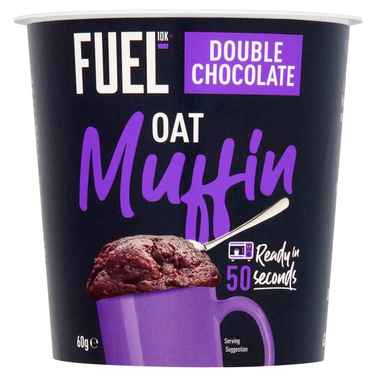 Fuel10k Double Chocolate Oat Muffin 60G
