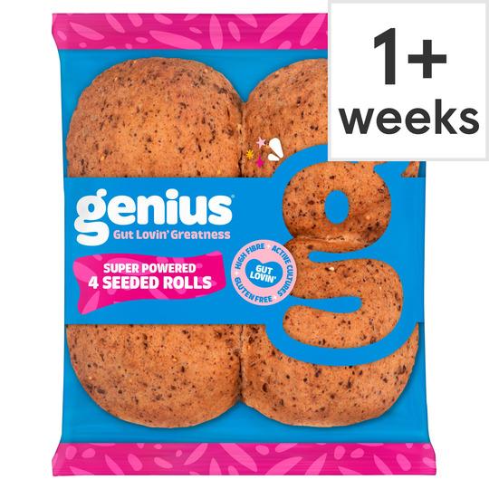 image 1 of Genius Multiseed Rolls 4 Pack